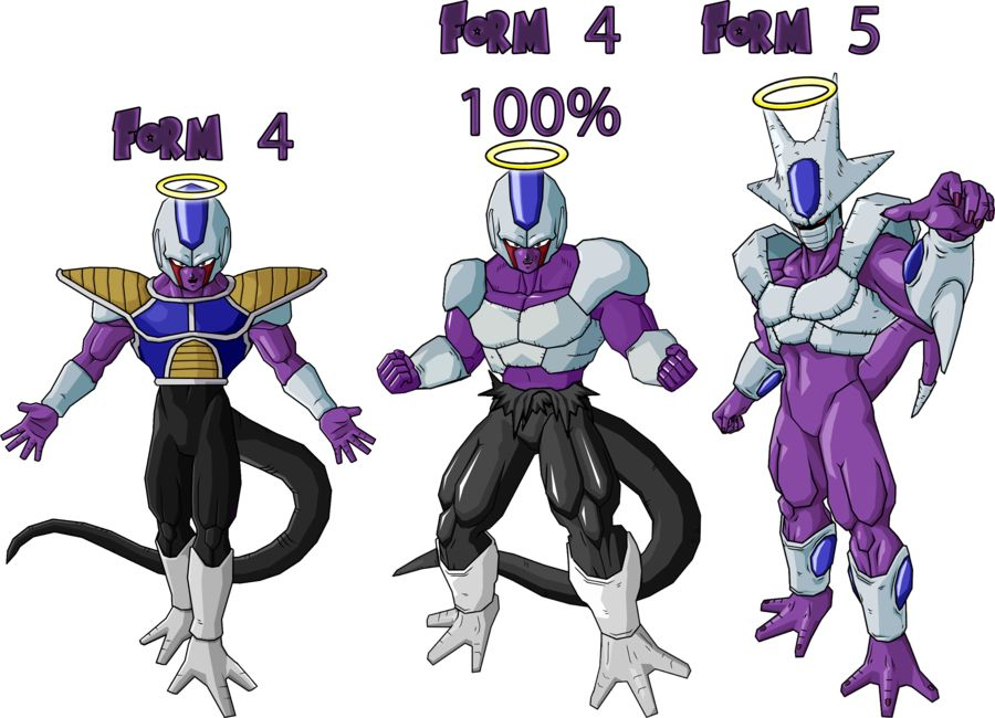Cooler | Freiza and Cooler Transformations | Pinterest