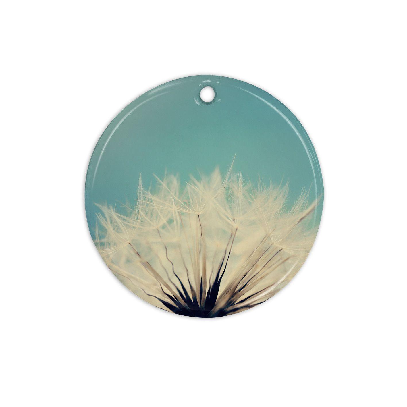 "Beth Engel ""Shes a Firecracker"" Ceramic Circle Ornament"