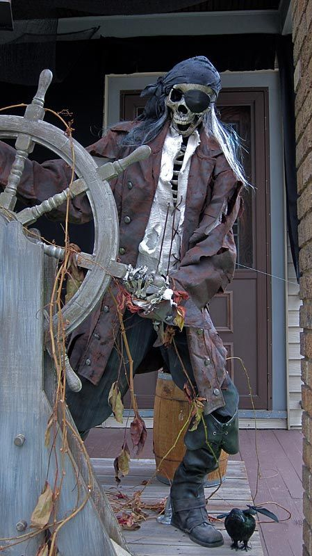 20 Funny Halloween Decoration Ideas Pirates Pinterest Pirate - halloween pirate decorations