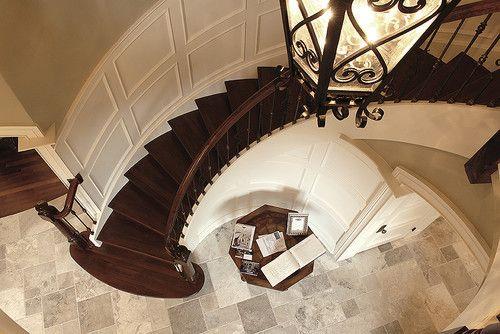 Best Foyer Wood Stairs Tile Floor Tile Flooring Acacia 640 x 480