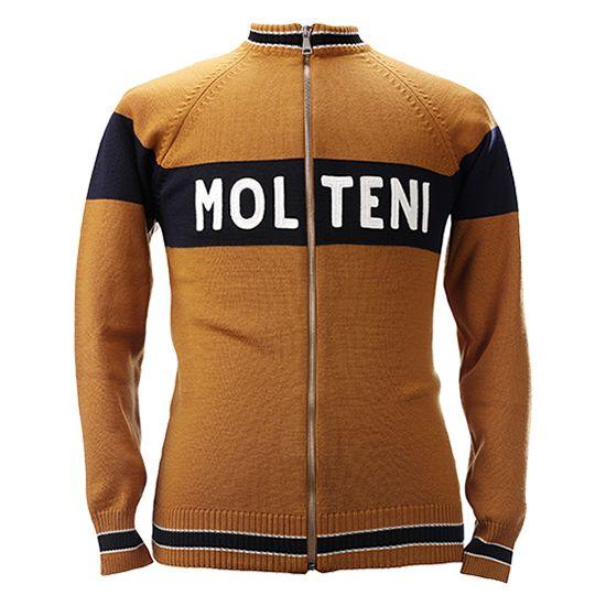 eaa19dbe3 Check out Magliamo s Eddy Merckx Molteni Cycling track top in Merino wool