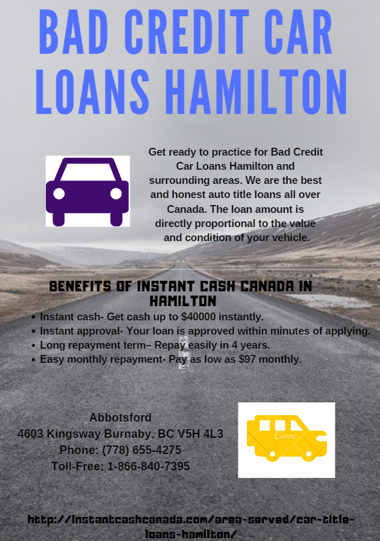 Car Title Loans Hamilton With Images Car Loans