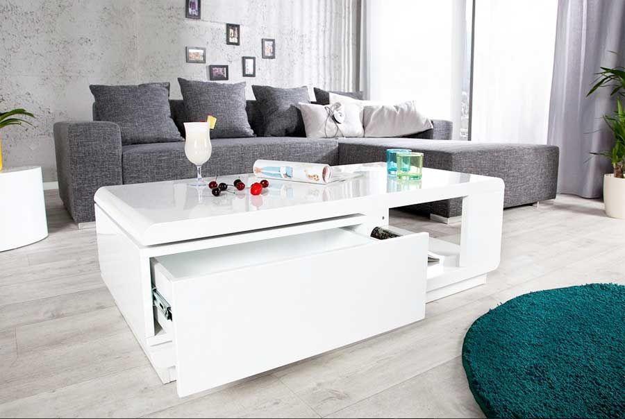 Billig couchtisch weiß hochglanz günstig kaufen Unbedingt kaufen - wohnzimmer komplett weis