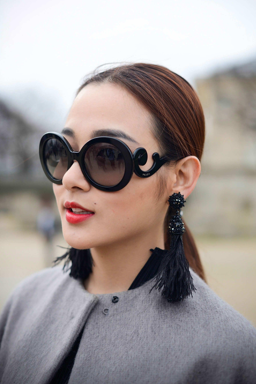 b610ccc3c0d4 Prada s Minimal Baroque Sunglasses - The Cut
