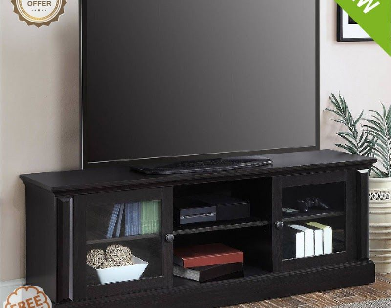 Attirant TV Stand 70 Inch Flat Screen Entertainment Media Home Center Console  Furniture