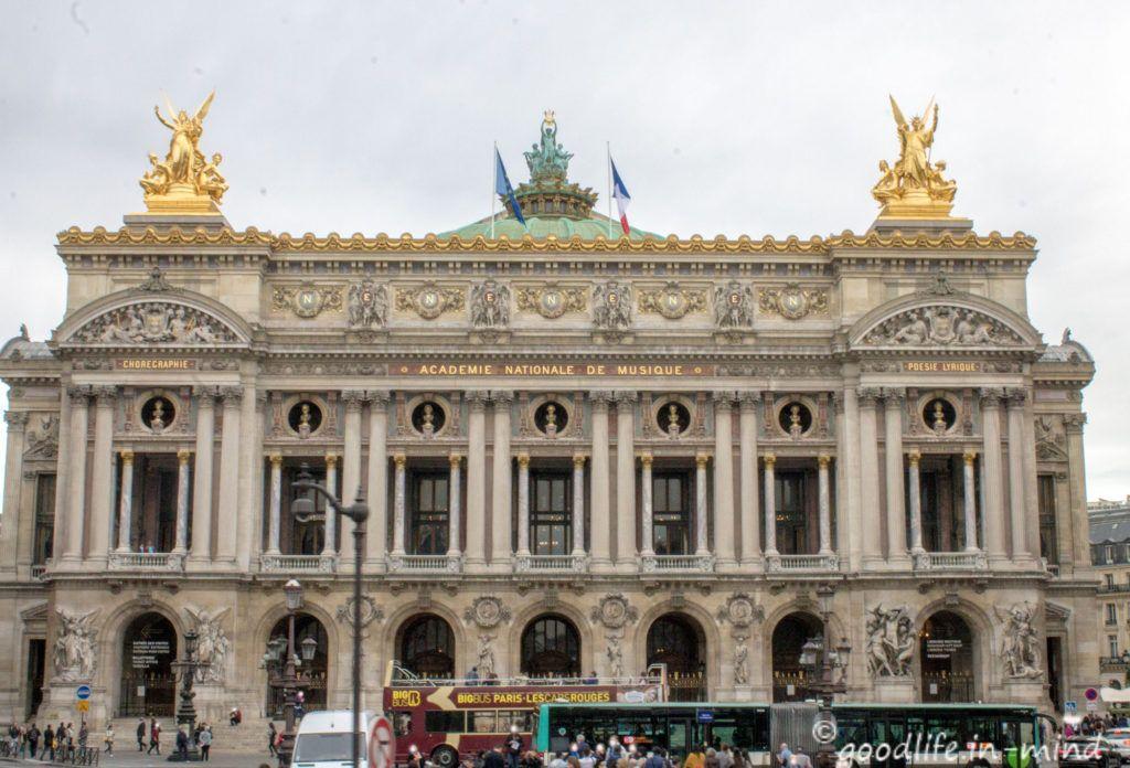 Opera Garnier Paris Reisebericht