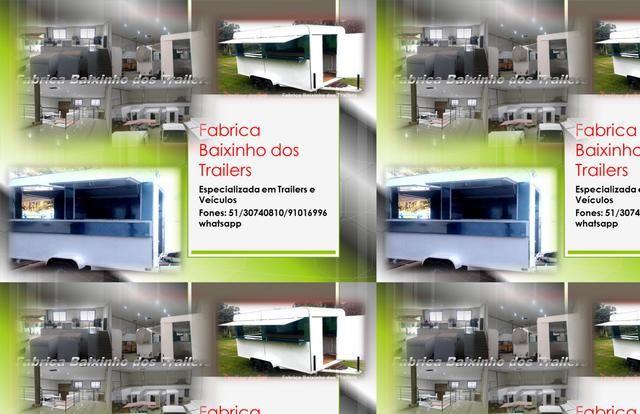 vende-se Trailer lanche e reboques - Outros serviços - Todo o Brasil                                                                                                                                                                                 Mais