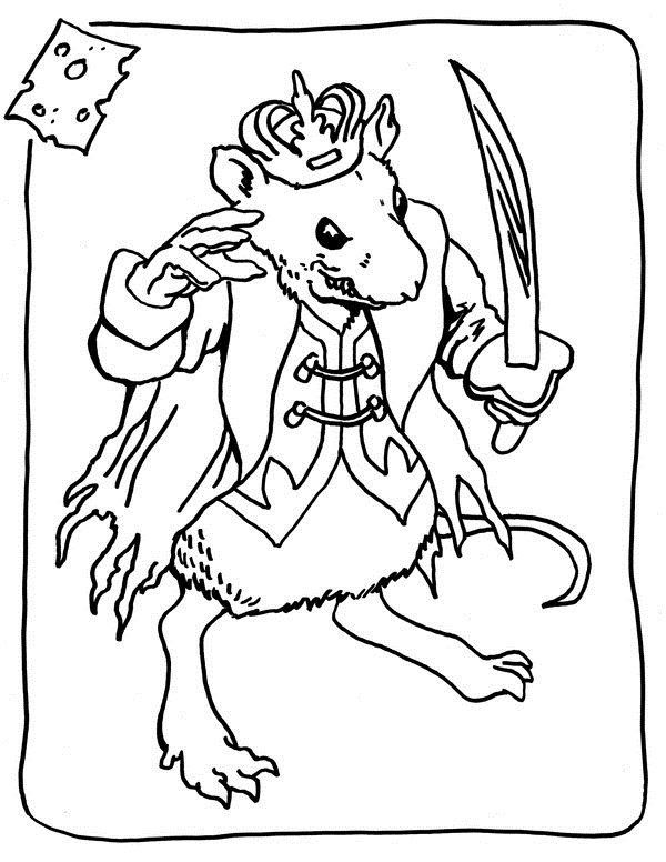 Nutcracker Coloring Pages Coloring Pages Mouse King Mouse King