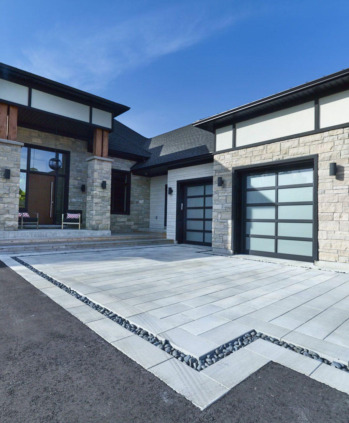 Home Driveway Design Ideas: Modern Contemporary Driveway Inspiration
