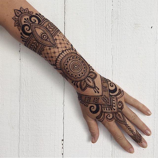 Mehndi Tattoo Sleeve: Henna Tattoo Sleeve, Henna Tattoo