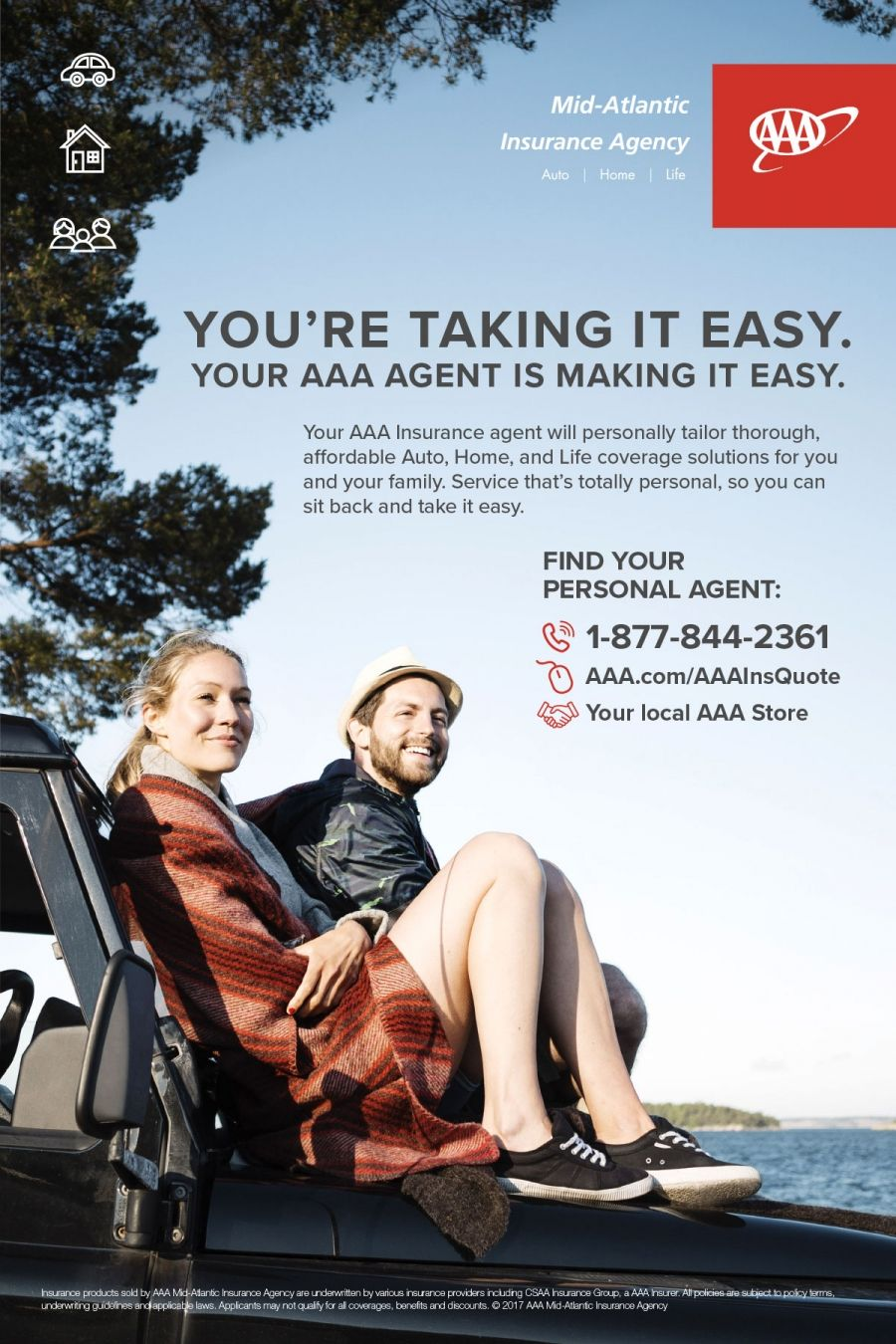 Aaa Insurance In Store Promotional Poster Print Ads Insurance