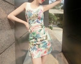 Exclusive custom retro print dress elegance Chinese wind characteristics    http://www.clothing-dropship.com/channel-NewArrivalListView-0-All-All-All-goods_id-DESC-6-40 YH15033013