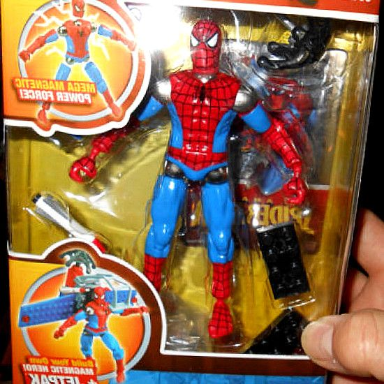 New The Amazing SPIDER-MAN Figure Jetpak 1937 Mega Bloks
