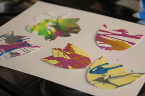easy spring spin art for preschoolers activities kid activities