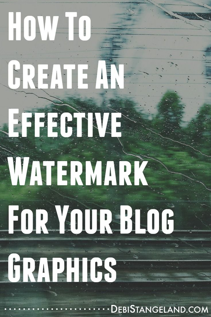 Using a watermark for your blog graphics will expand the reach of your brand, protect your property, and help promote your site. You need to include one on every photo and graphic you create. Learn how with this simple tutorial. #EquippingBloggers
