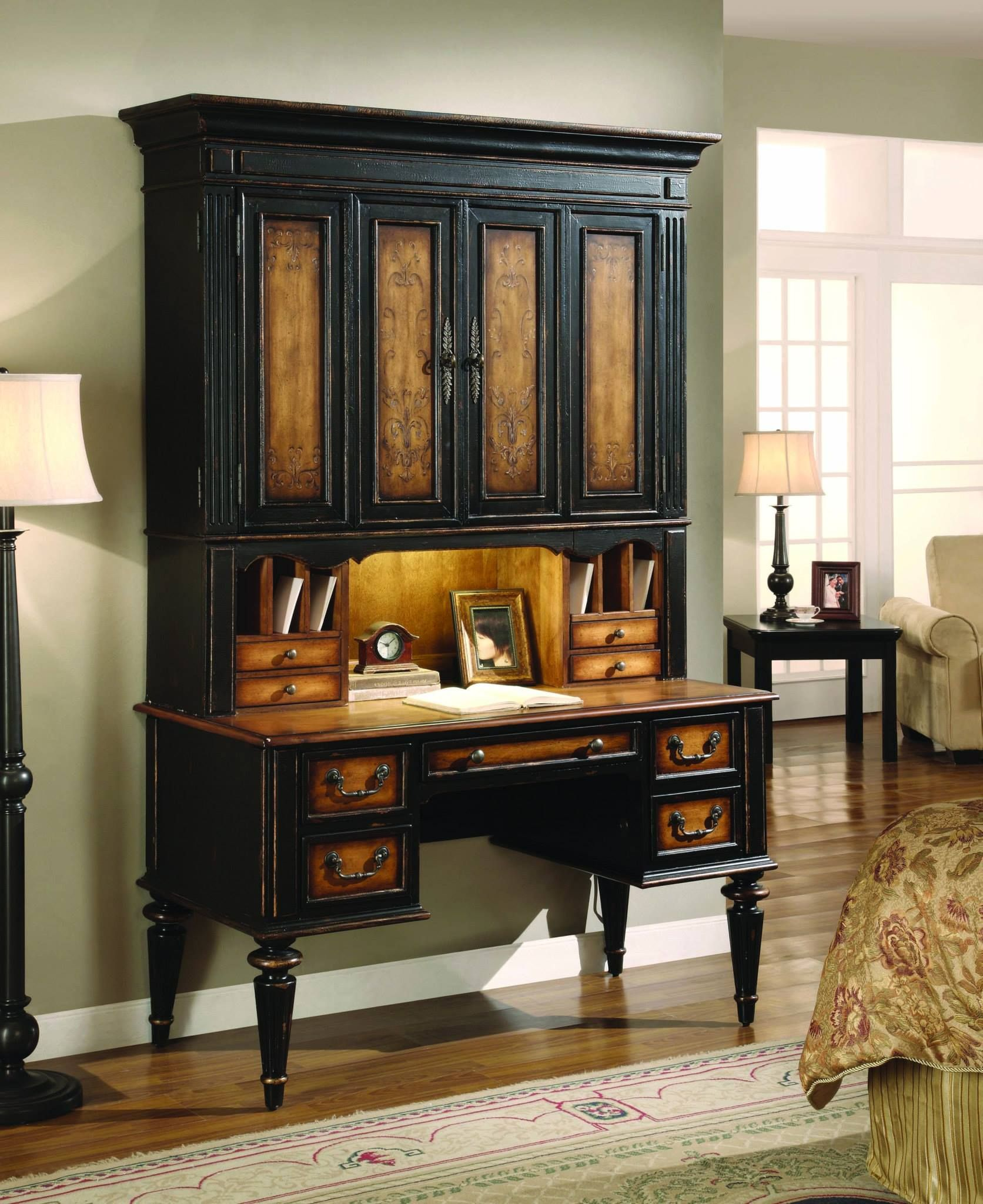 the northampton desk hutch has a built in incentive for finishing rh pinterest com