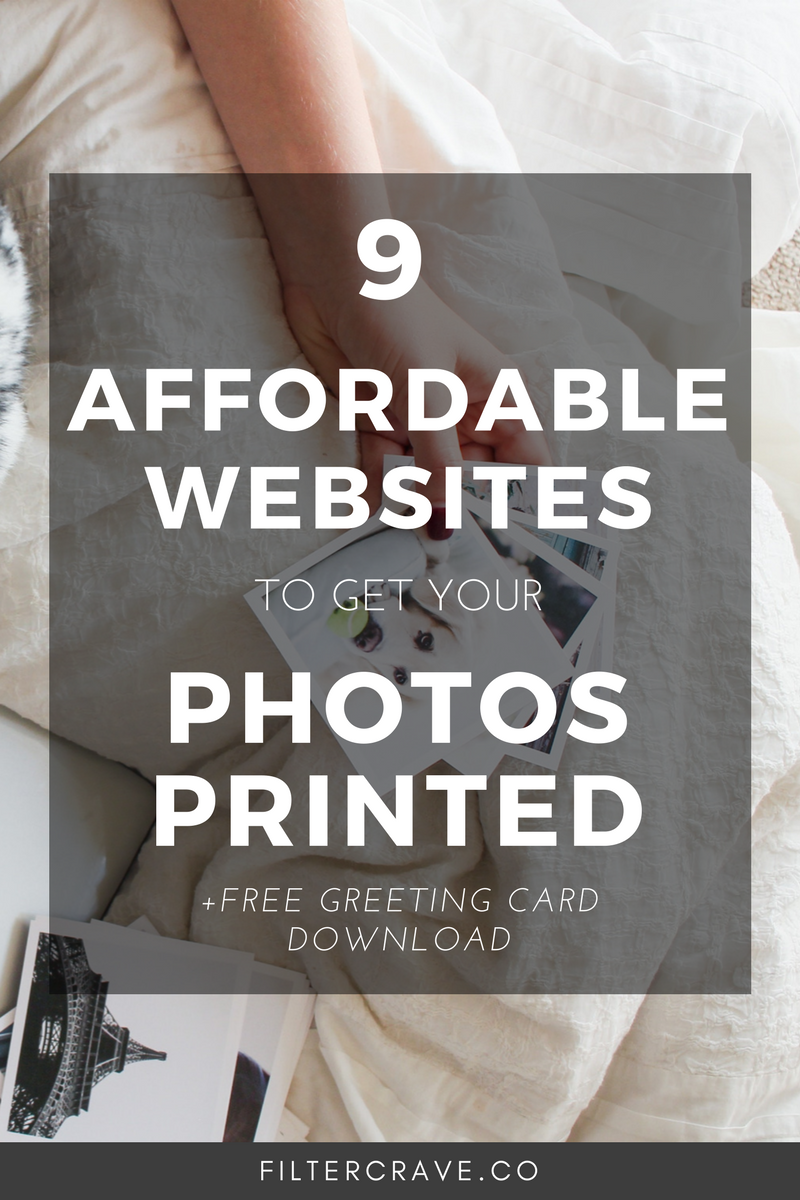 9 Affordable Websites To Get Your Photos Printed Online Photo