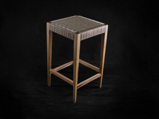 Pleasing Blackbutt Danish Cord Stools By Makimaki Furniture Works Machost Co Dining Chair Design Ideas Machostcouk