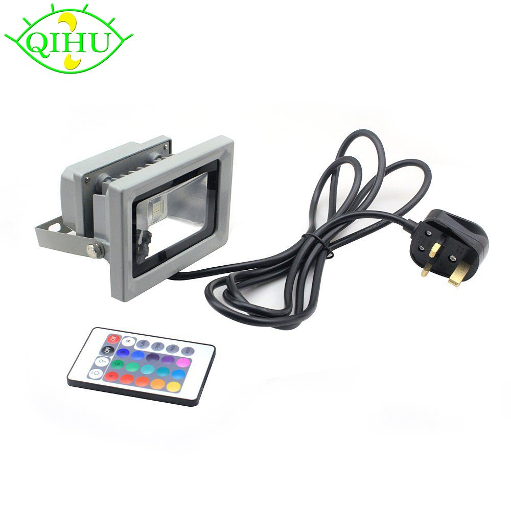 Rgb led flood lights 10w led exterior spotlight ip65 outdoor light rgb led flood lights 10w led exterior spotlight ip65 outdoor light reflector spot floodlight remote control workwithnaturefo