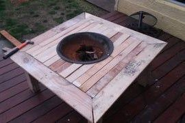 Photo of Outdoor Fire Pit on a Table