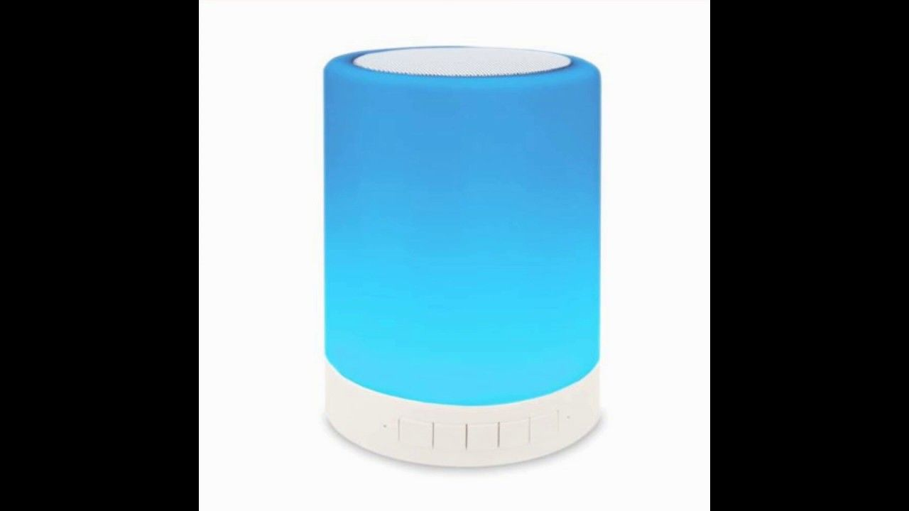 Touch Lamp Portable Bluetooth Speaker Cl 671 Bluetooth Speakers Portable Touch Lamp Wireless Stereo Speakers