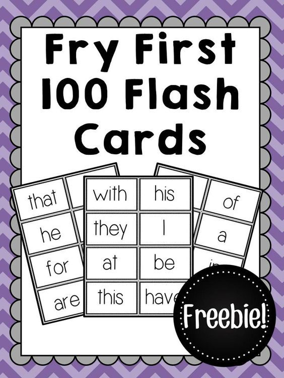 image about Sight Word Flashcards Printable identified as Fry Very first 100 Sight Term Flashcards - Totally free CrazyCharizma