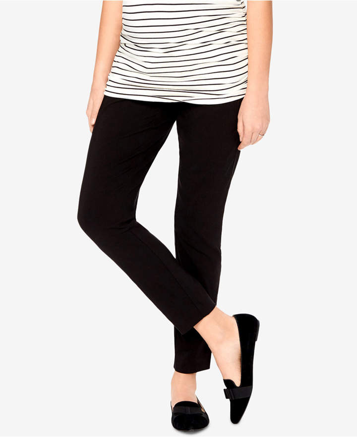 b4807c5c0d1 Motherhood Maternity Skinny Ankle Pants - Black S Long