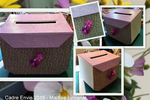 cartonnage janvry des fils et une aiguille urne mariage cartonnage et urne. Black Bedroom Furniture Sets. Home Design Ideas