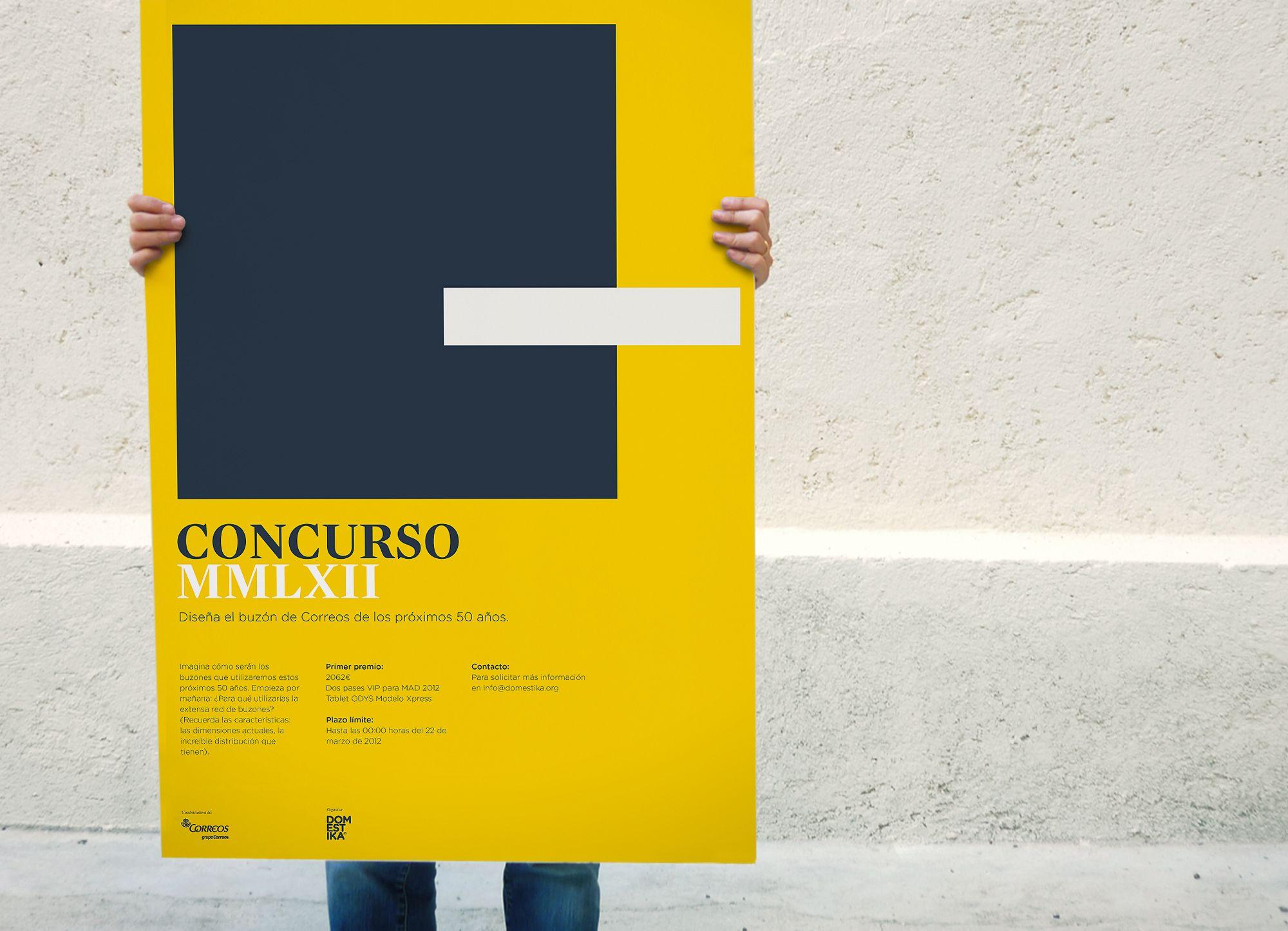 Concurso Diseño Buzón De Correos España Spanish Postal Office Design Contest Poster Buzones De Correo Buzones Disenos De Unas