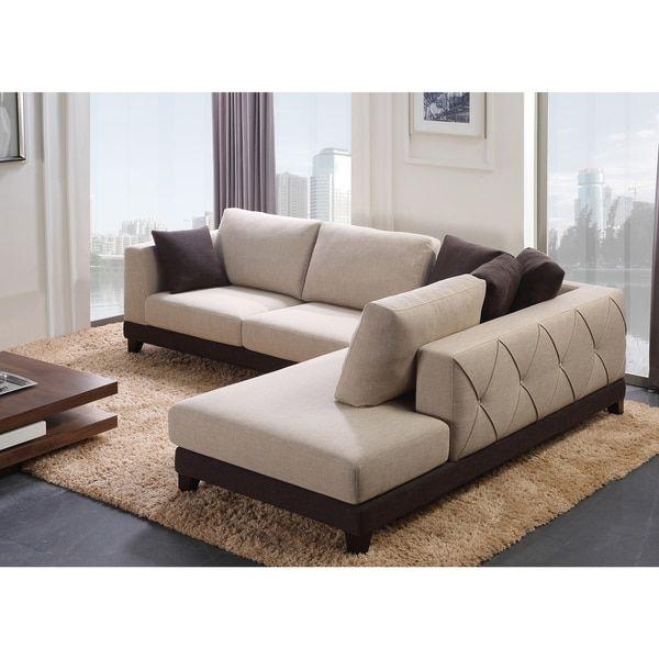 Abbyson u0027Veronau0027 Fabric Sectional Sofa by Abbyson  sc 1 st  Pinterest : verona sectional - Sectionals, Sofas & Couches