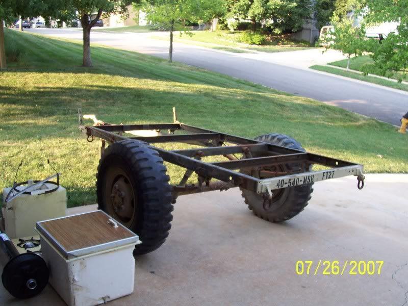 M101 trailer frame: http://forum.expeditionportal.com/threads/24910 ...