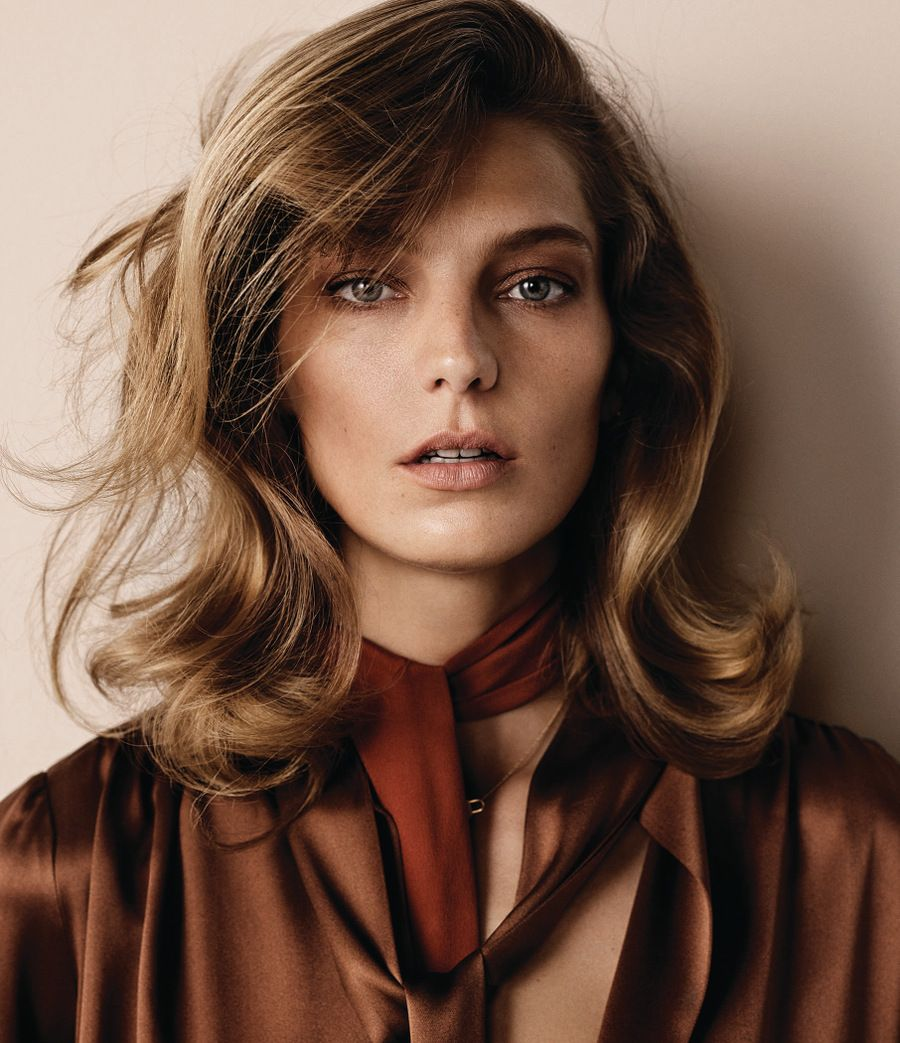 Daria Werbowy by Josh Olins for WSJ Magazine September 2014