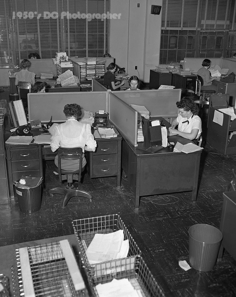 Commercial Grow Room Design: Office Desktop 1950 - Google Search
