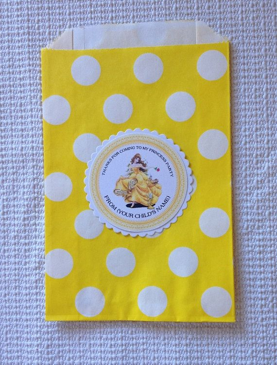 Personalized BelleTags Belle thankyou tagsBelle by Justabitofpaper, $10.00
