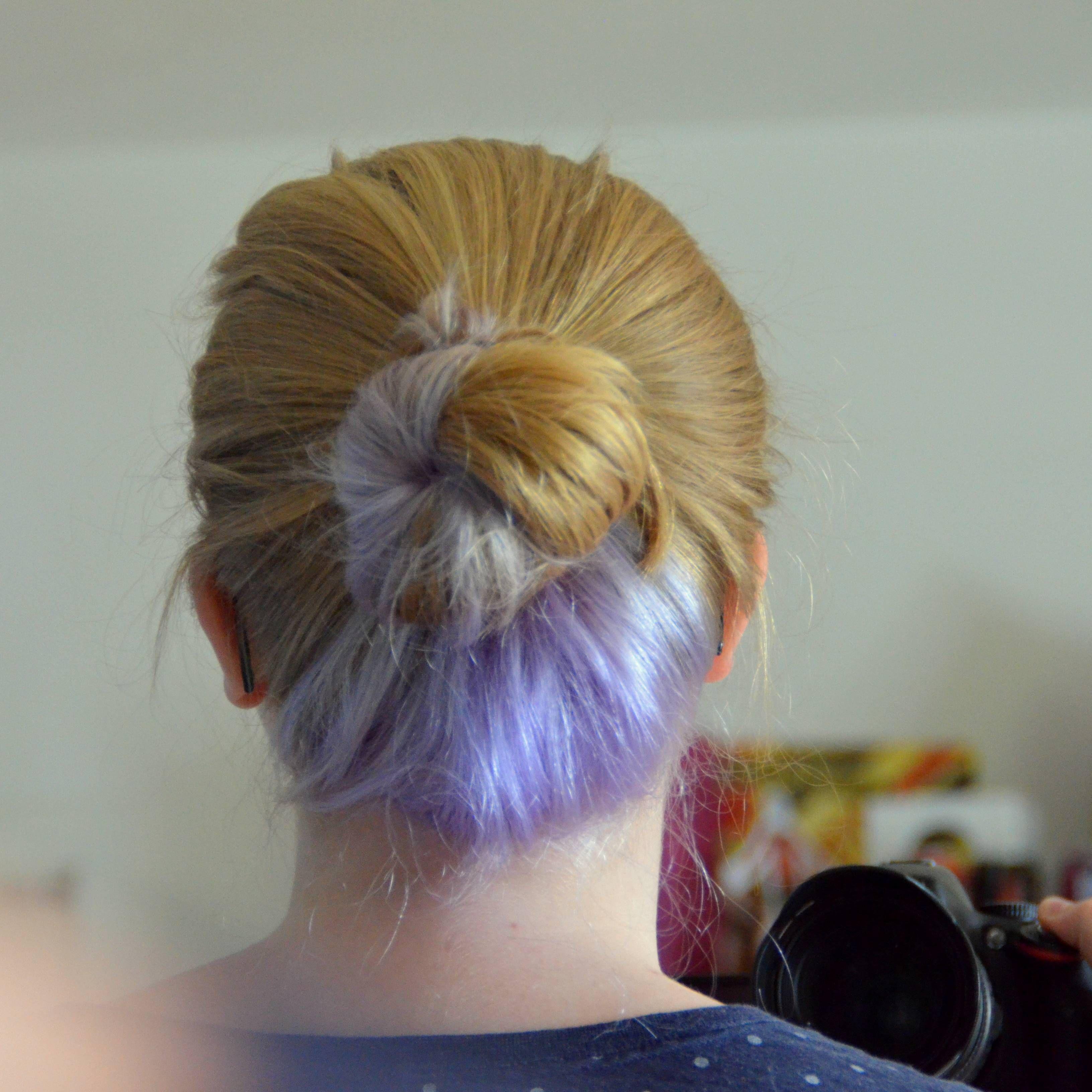 Surprise Colorful Hair Dye Jobs Hair Color Underneath Hair Color Highlights Hair Styles