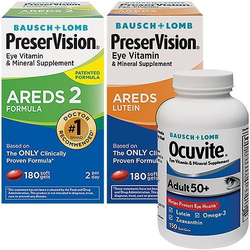 Warehouse Coupon Offers Eye Vitamins Lutein Bausch Lomb