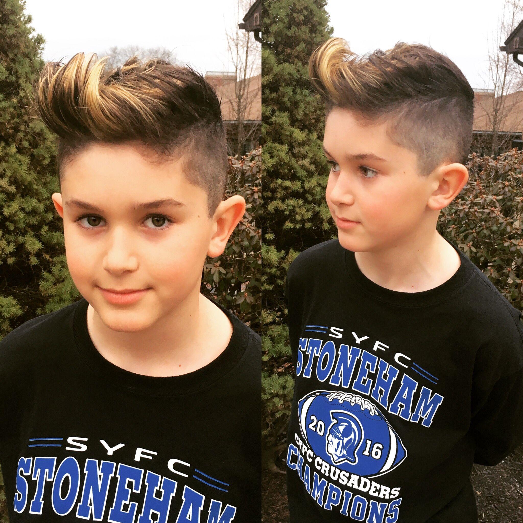 Boys Hair Cut And Highlights Amato Studio Pinterest Hair Cuts