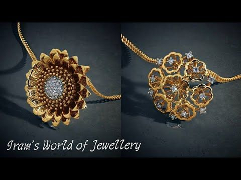 look pendant chain without shape to view necklaces chains hover plated bluestone zoom by heart mangalsutra gold