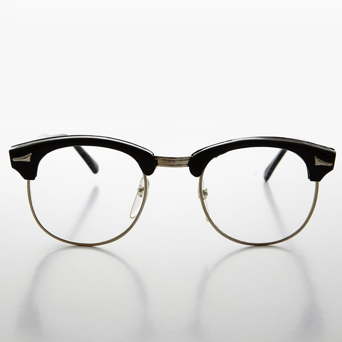 7a0795355ab A real American classic frame famously worn by Malcolm X. Horn rim glasses  continue to make a stylish fashion statement. New old stock 1980s. Never  worn.