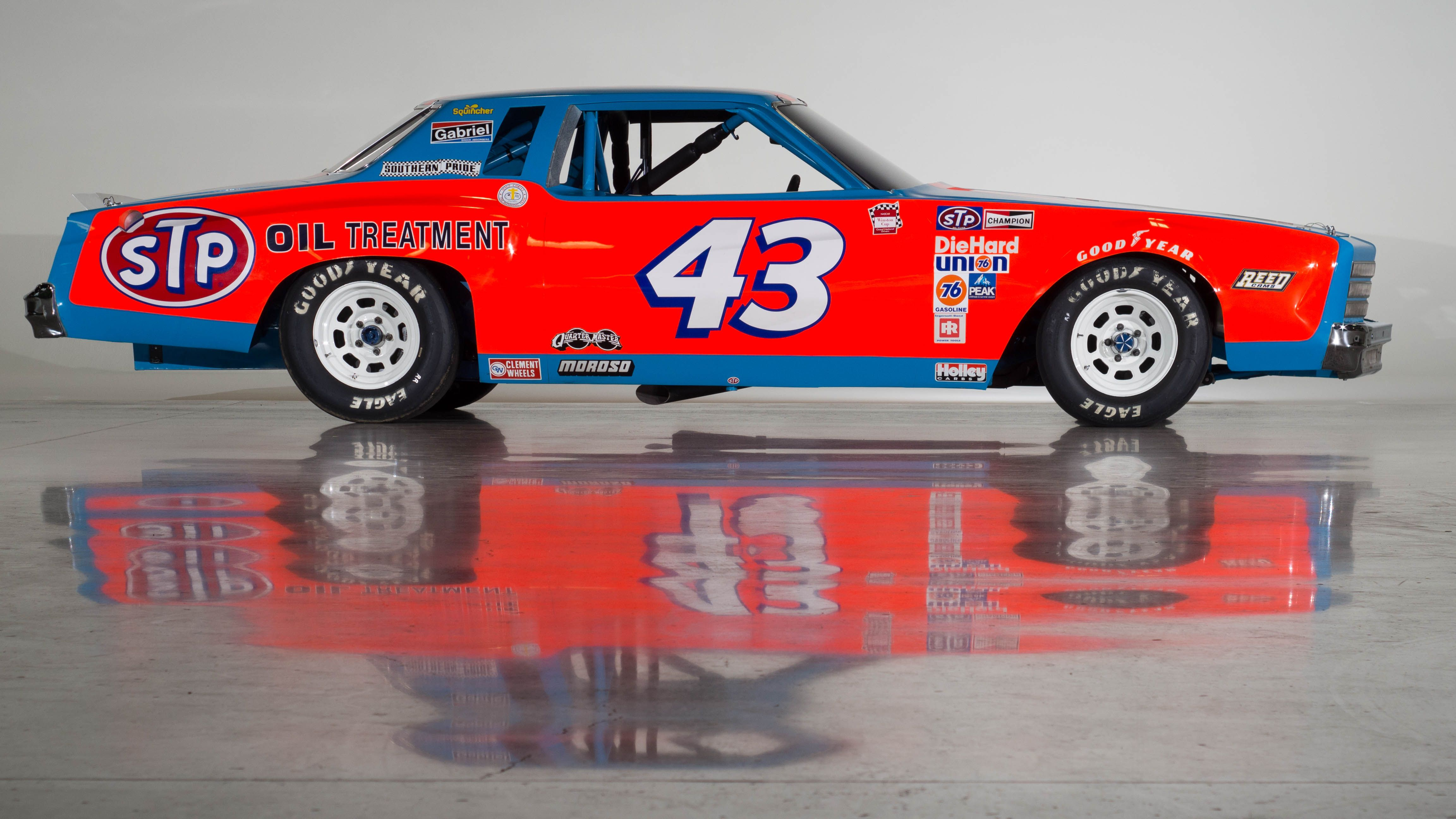 Blue 43 That S Richardpetty The King Of Nascar My Personal Hero I Mean As Far As I Mean I Really Respect A Number Nascar Race Cars Nascar Cars Racing