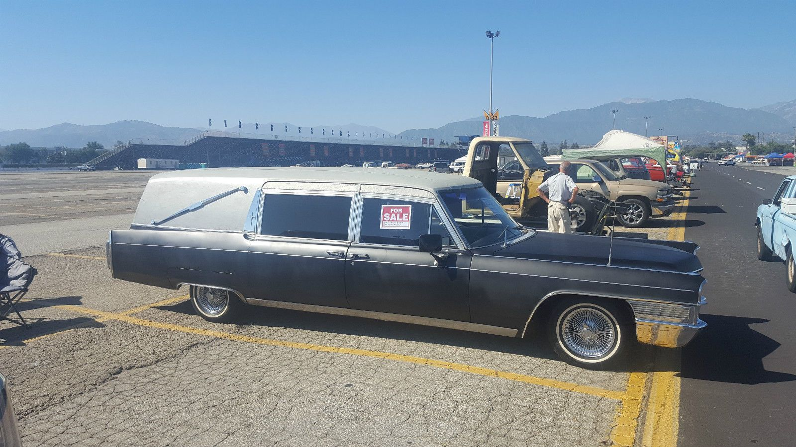 1965 cadillac miller meteor herase for sale