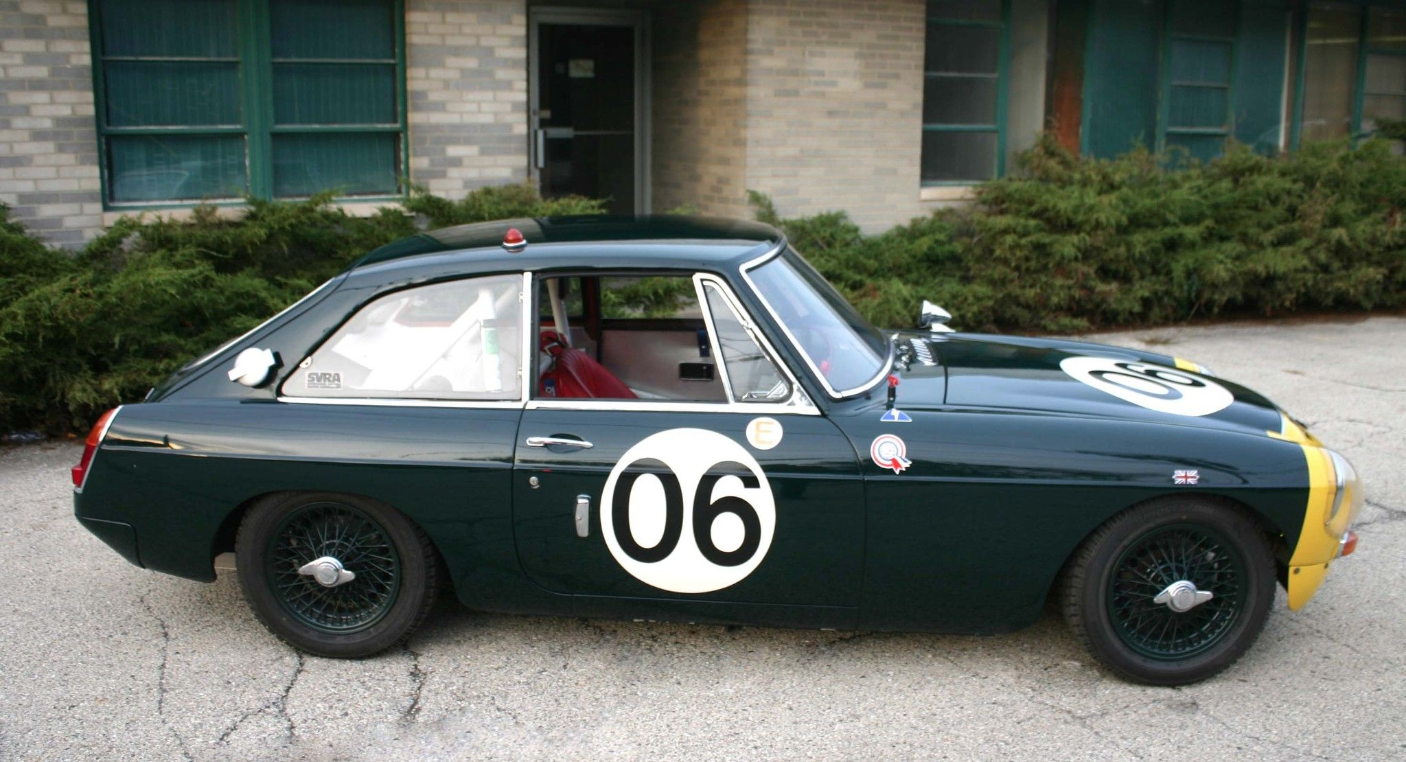 Bid for the chance to own a 1967 MGB GT Race Car at auction with ...