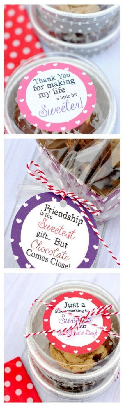 20+ Ideas For Diy Gifts For Friends Valentines Day Printable Tags #diy #gifts