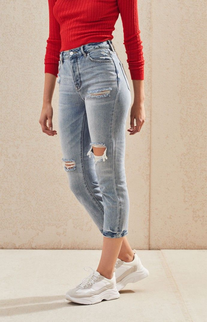 f2e2e03af8 Pacsun Favorite Blue Mom Jeans - 22 in 2019 | Products | Blue mom ...