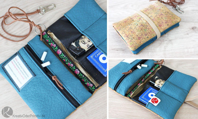 Tabaktasche verloren DIY selber machen nähen basteln Tasche ...