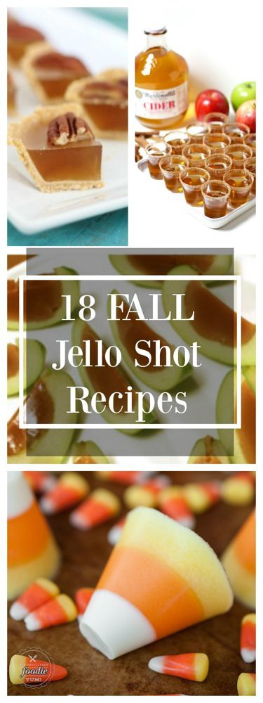 Jello-Shots to Make for Fall!