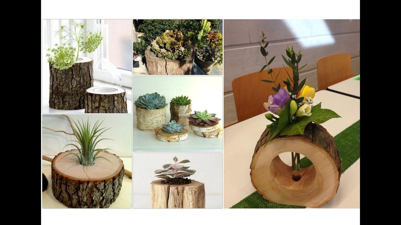 5 Geniale Bastelideen aus Naturholz   Amazing Craft Ideas from ...