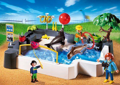 Amazon De Playmobil 174 3135 Superset Zoo Seehundbecken