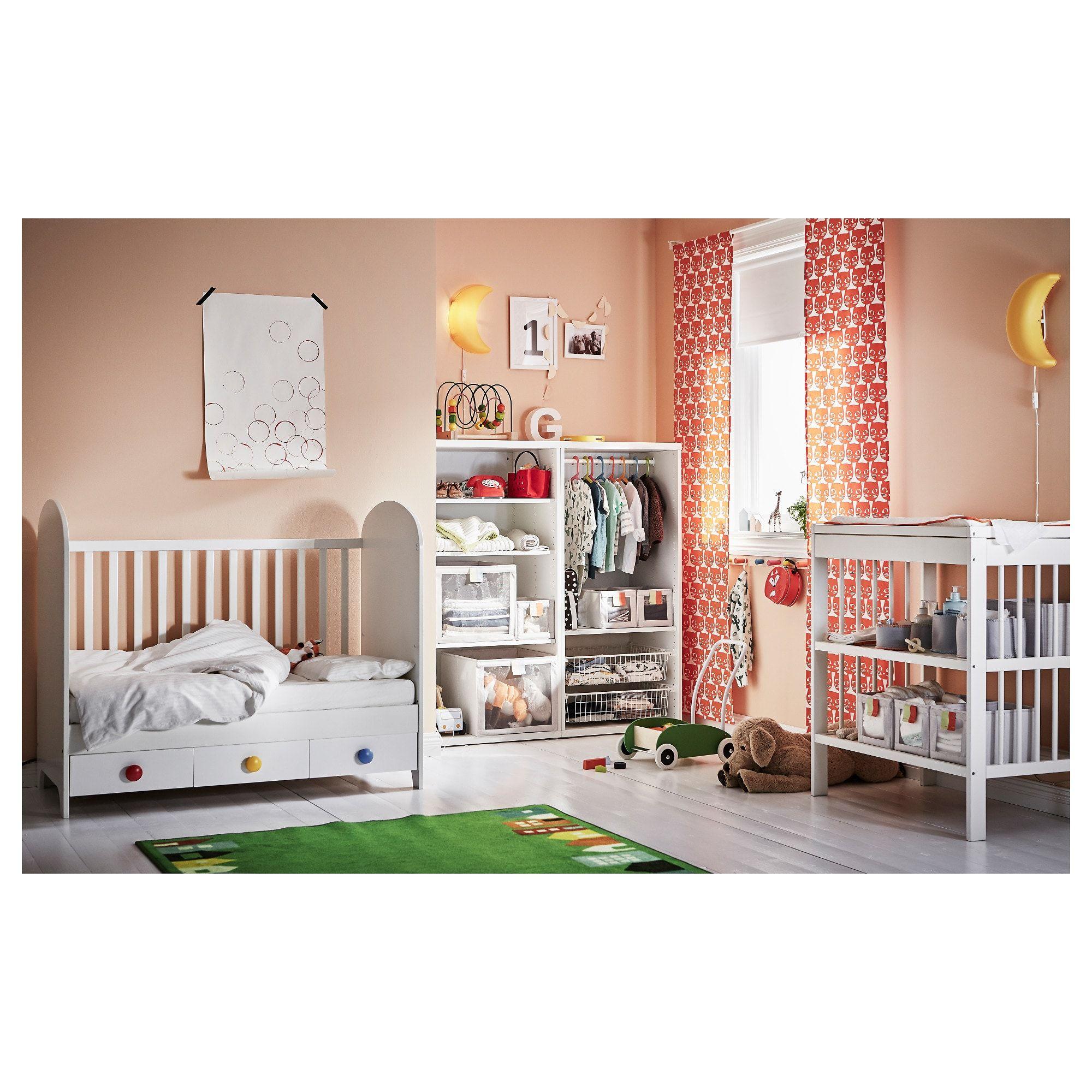 GONATT Babybett weiß in 2019 Babykinderzimmermöbel