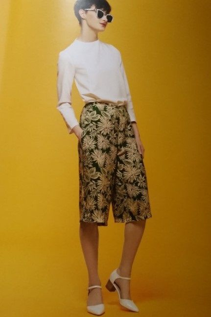 Free PDF pattern, GBSB Culottes | Great British Sewing Bee | Pinterest